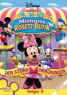 Musses klubbhus - Volym 11 - Mimmis rosettbutik
