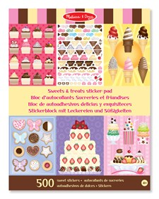 Sweets & Treats Sticker Set, Melissa & Doug
