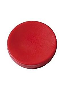 Magnetknapper Actual 30 mm rød 5/fp