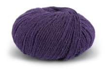 Knit At Home Classic Alpacka Wool Garn Ullmix 50 g Blålila 518