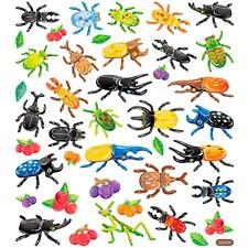 Klistermärken Metallic Insekter 1 Ark