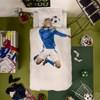 Lakanasetti Jalkapallonpelaaja, 150 x 210, Sininen, Snurk