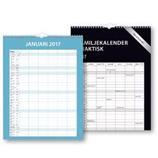 Väggkalender Familj 2017 Praktisk Burde