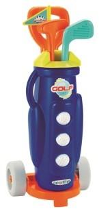 Golfbag med klubbor, Ecoiffier