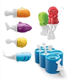 Ispinneformer, Fish Pop Molds, Zoku
