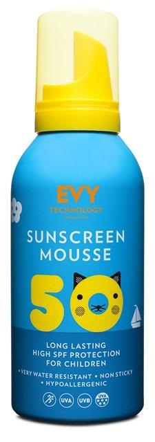 EVY Aurinkosuoja Lapset Mousse, SPF 50, 150ml