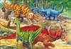 Dinosaurier, Rampussel 16 bitar
