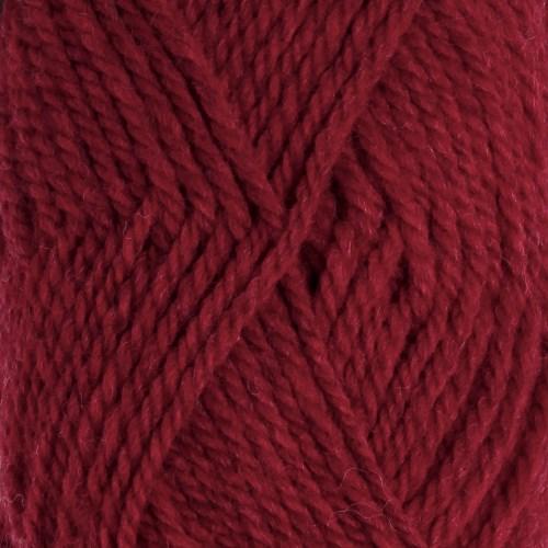 Drops Alaska Uni Colour Lanka Villalanka 50g Dark Red 11