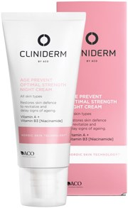 Cliniderm AGE Prevent Optimal Strength Night Cream 50ml