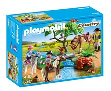 Ponnyridlektion, Playmobil Country (6947)