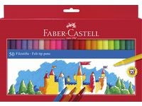 Tuschpennor Barn Faber-Castell 50-pack