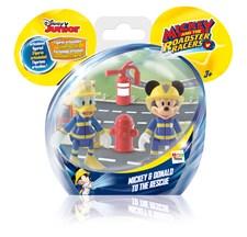 Minifigurset 2-pack, Musse Pigg och Kalle Anka, Mickey & The Roadster Racers