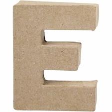Bokstäver av Papier-Maché E 10 cm 1 st