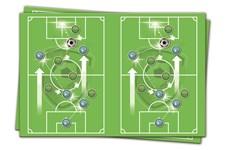 Fotboll Plastduk, 120 x 180 cm