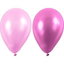 Ballonger, dia. 23 cm, 10 st., lila