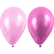 Ballonger, lilla, dia. 23 cm, 10stk.