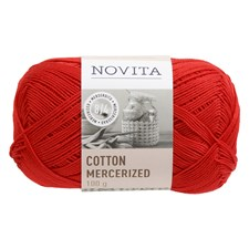 Novita Cotton Mercerized Bomullgarn 100 g, jul 544
