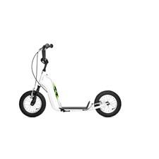 Yedoo Wzoom vit sparkcykel med lufthjul
