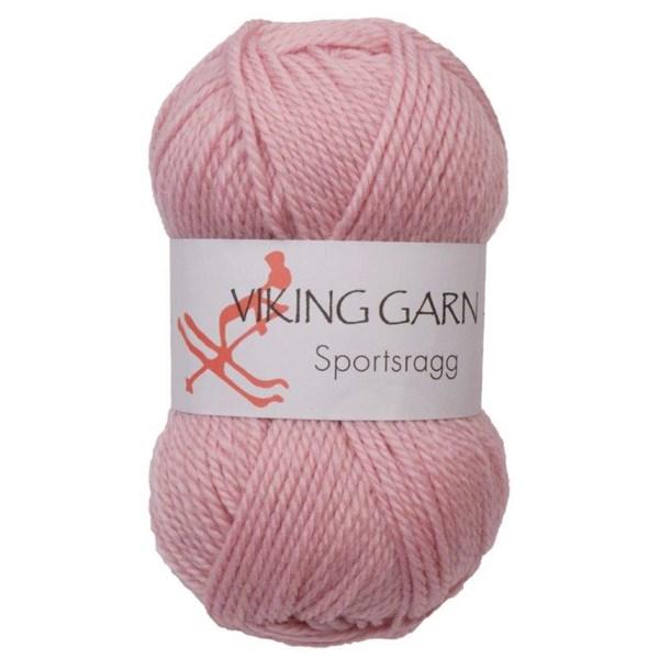 Viking of Norway Sportsragg 50 gr Lys Rosa 574