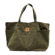 House Doctor Weekend-bag 100% Bomullscanvas Army Green