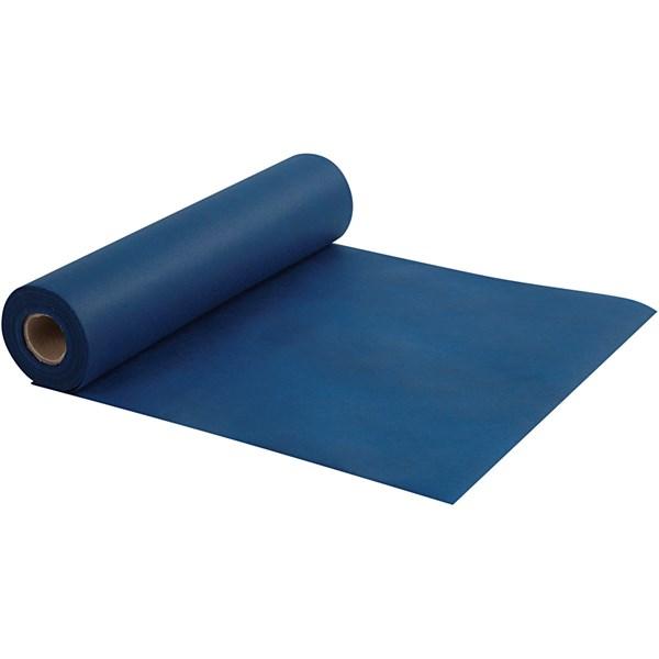Kaitaliina kangasjäljitelmää, lev. 35 cm, 70 g/m2, 10 m, tummansininen