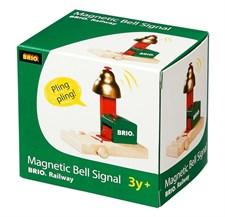 Ljudsignal, Magnetstyrd, Brio Träjärnväg