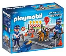 Politi med veisperring, Playmobil City Action (6924)
