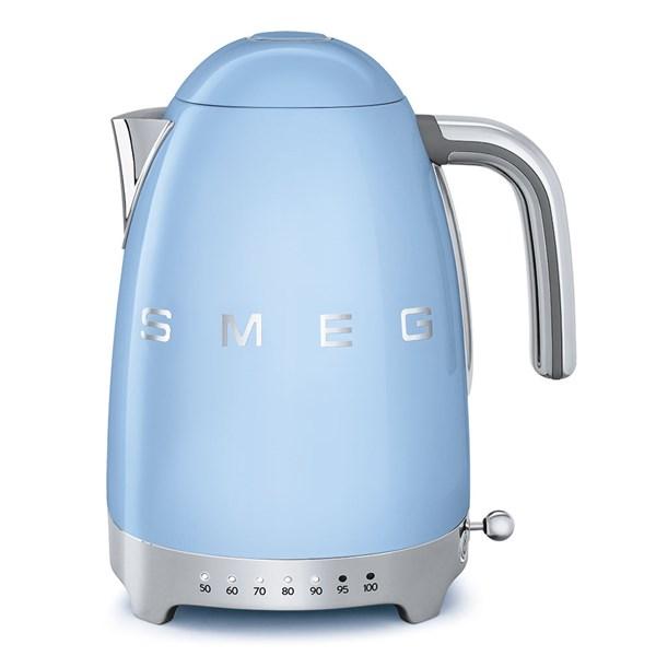 Smeg Vattenkokare 1.7 L Reglerbar temperatur Blå - vattenkokare