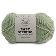 Adlibris Baby Merinovilla lanka 50g Pistachio Green A010