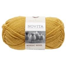 Novita Nordic Wool Garn Ullgarn 50 g, saffron 287