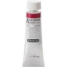 Schmincke AKADEMIE® Akrylmaling, 60 ml, alizarin crimson hue (343)