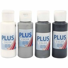 Plus Color-maalilajitelma, 4x60 ml