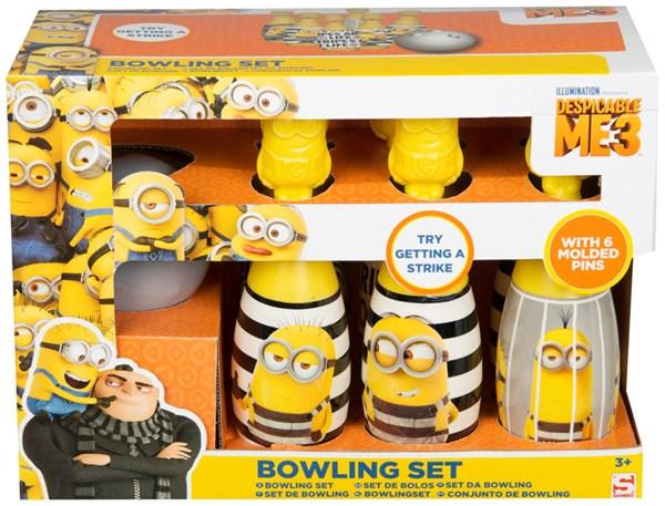 Bowling Set, Novelty Shape, Minions