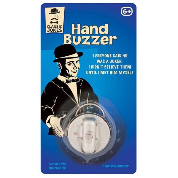 Hand Buzzer Retro  Tobar - retroleksaker