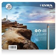 Lyra Graduate Aquarell 12-pack Akvarellpennor
