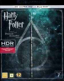 Harry Potter 7 Part 2: Dödsrelikerna del 2 - 4K Ultra HD Blu-ray