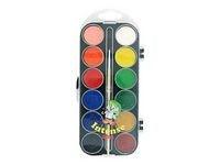 Vattenfärg Basfärger 12 Färger
