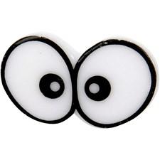 Hassut silmät, koko 16x28 mm, 10 kpl