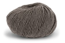 Knit At Home Superfine Merino Wool Ullgarn 50 g Brun Melange 308