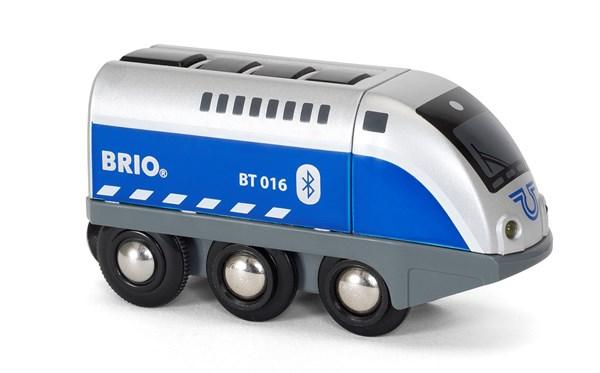 Lok med app-styrning, Brio Träjärnväg (33863)