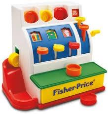 Cash Register, Kassaapparat, Fisher-Price