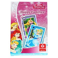 Firkort / Kvartettspill Disney Prinsesser (SE/FI/NO/DK/IS/EN)