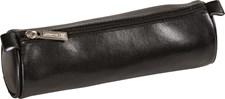 Posepennal skinn Sort, stor 24x8cm