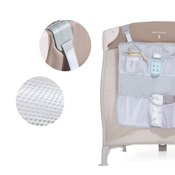 Sängförvaring Hang me  grå  Hauck - barnrumsförvaring