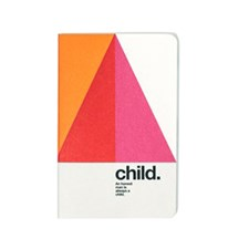 "Anteckningsbok ""Child"" Mini med Olinjerade Stenpapper Soft Cover"
