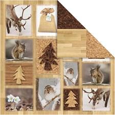 Vivi Gade Design, paperit, arkki 30,5x30,5 cm,  120 g, 5ark,