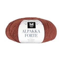 Dale Garn Alpakka Forte Garn 50 g Varm terracotta melert 703