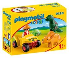 Oppdagelsesreisende med dinosaurer, Playmobil 1.2.3 (9120)