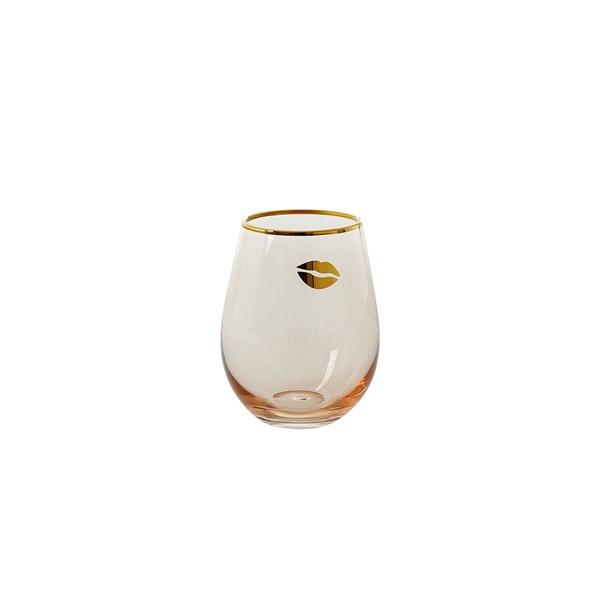 Rice Dricksglas H  12.5 cm rosa Guld (rosa) - glas