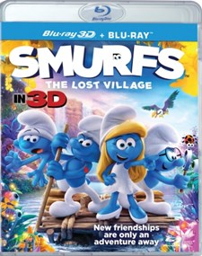 Smurfarna - Den försvunna byn (Blu-ray 3D + Blu-ray)